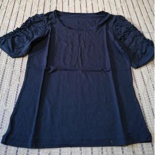 ブラデリスニューヨーク(BRADELIS New York)のモダールサンUVフリルTシャツ アームカバー(Tシャツ(半袖/袖なし))
