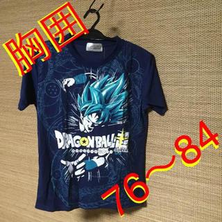 ドラゴンボール(ドラゴンボール)の160cm☆ドラゴンボール超 男児用Tシャツ(紺/ネイビー)(Tシャツ/カットソー)
