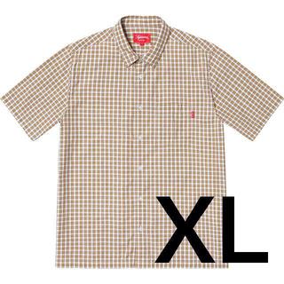 シュプリーム(Supreme)の【XL】Supreme Plaid S/S Shirt White (シャツ)