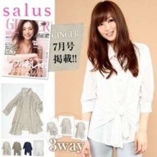 salus - salus 3wayシャツ