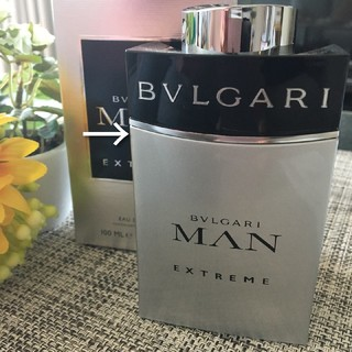ブルガリ(BVLGARI)のブルガリ香水★BVLGARIエクストリームMAN★100ml☆残量ほぼMAX(香水(男性用))