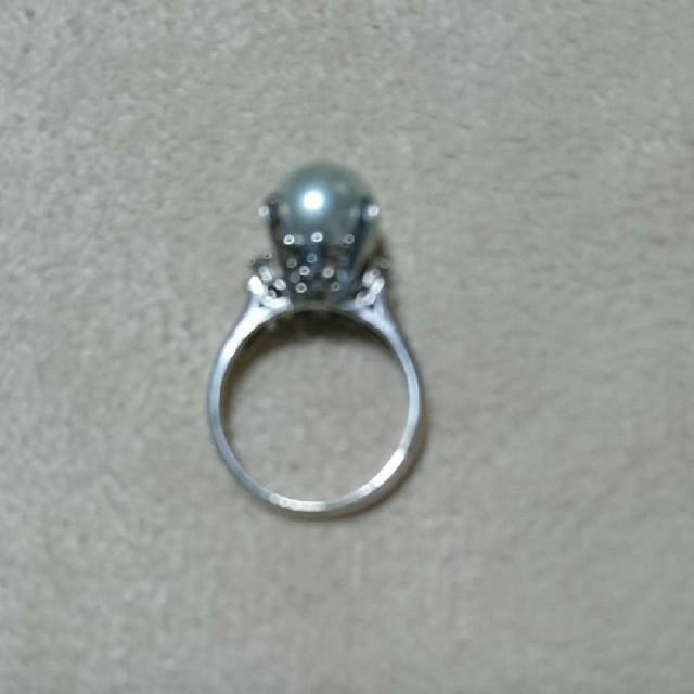 【大特価】Pt900 パールリング レディースのアクセサリー(リング(指輪))の商品写真