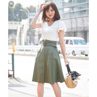 プロポーションボディドレッシング(PROPORTION BODY DRESSING)のプロポ トレンチスカート(ひざ丈スカート)