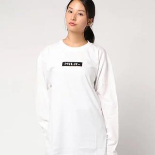MILKFED. - MILKFEED. ロンT Tシャツ