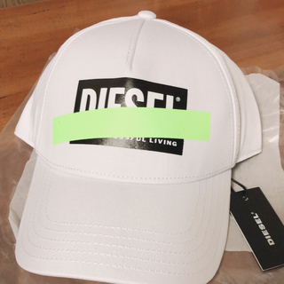 ディーゼル(DIESEL)のディーゼル DIESEL ボックスロゴ CIRIDE キャップ 国内完売 2色(キャップ)