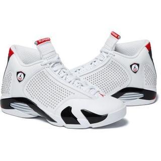 Supreme - 19ss Supreme Nike Air Jordan 14 white
