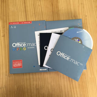 マック(MAC)のoffice Mac 2011 W P X O(PC周辺機器)