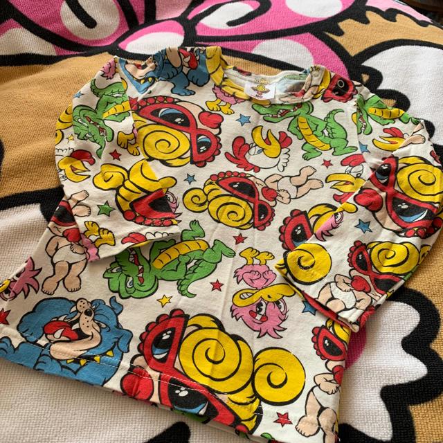 HYSTERIC MINI(ヒステリックミニ)のヒスミニロンT80 キッズ/ベビー/マタニティのベビー服(~85cm)(シャツ/カットソー)の商品写真