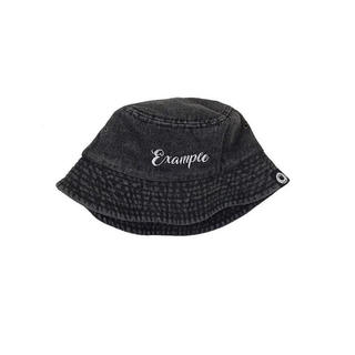 シュプリーム(Supreme)のEXAMPLE DENIM BUCKET HAT / BLACK L(ハット)