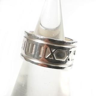 ティファニー(Tiffany & Co.)の美品 ティファニー アトラス リング 18号 指輪 メンズ VJ34(リング(指輪))