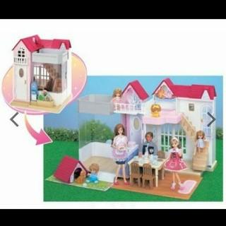 タカラトミー(Takara Tomy)のりかちゃん ロイヤルスイートハウス(知育玩具)