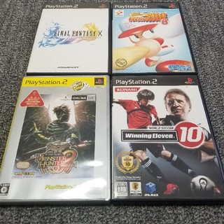 PlayStation2 - PS2  ソフト4本セット