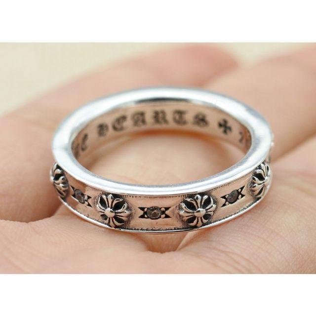 Chrome Hearts(クロムハーツ)のK131クロムハーツクロスリング メンズのアクセサリー(リング(指輪))の商品写真