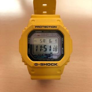 カシオ(CASIO)の[USED・送料込み] G-SHOCK G-5600A Yellow(腕時計(デジタル))