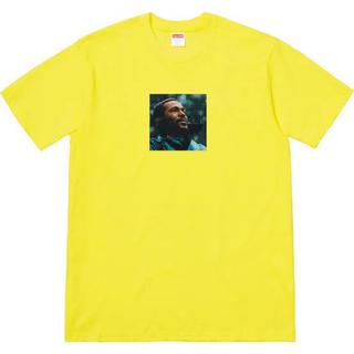シュプリーム(Supreme)のsupreme marvin gaye tee yellow(Tシャツ/カットソー(半袖/袖なし))