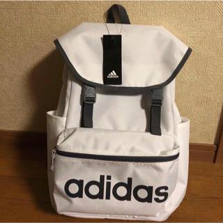 adidas - 新品タグ付送料込★アディダス リュック★ホワイト adidasバックパック20ℓ