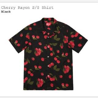 シュプリーム(Supreme)の19SS Supreme - Cherry Rayon S/S Shirt(シャツ)