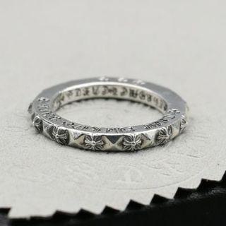 クロムハーツ(Chrome Hearts)のK118クロムハーツクロスリング(リング(指輪))