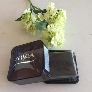 アルソア(ARSOA)のアルソア  石鹸  20グラム  ケース付き(洗顔料)