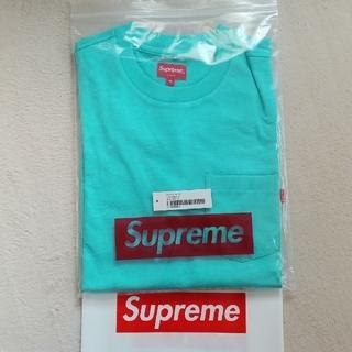 シュプリーム(Supreme)のsupreme pocket T-shirts cyan Medium(Tシャツ/カットソー(半袖/袖なし))