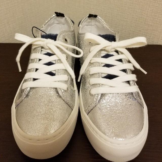 ZARA(ザラ)のZARA スニーカー 23.5cm 未使用 レディースの靴/シューズ(スニーカー)の商品写真