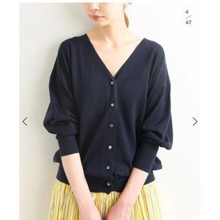 IENA - ⭐️未使用 今季完売 イエナ silk cotton Vネックカーディガン