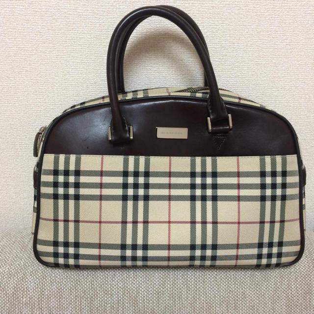 BURBERRY(バーバリー)のバーバリー★ミニボストンバッグ レディースのバッグ(ボストンバッグ)の商品写真