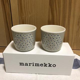 マリメッコ(marimekko)のマリメッコ ラテマグ プケッティ ペア(グラス/カップ)