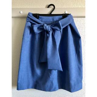 プロポーションボディドレッシング(PROPORTION BODY DRESSING)のPROPORTION ブルー スカート(ひざ丈スカート)