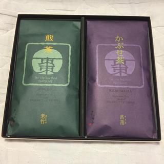 福寿園 煎茶とかぶせ茶