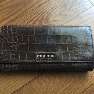 miumiu - ♪♪シンプル☆財布