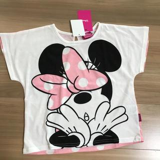 Disney - 新品タグ付き130半袖Tシャツ ディズニーミニー⑨