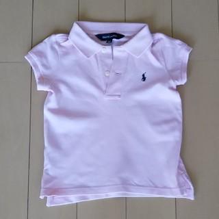 ラルフローレン(Ralph Lauren)のラルフローレン <ピンク>ポロシャツ100cm(Tシャツ/カットソー)