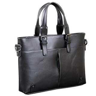 12.メンズ  ビジネスバッグ A4 サイズ対応 通勤 出張 軽量型 ブラック