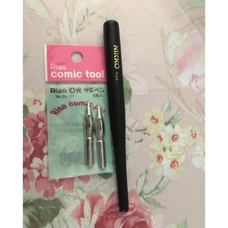 ニッコー(NIKKO)の付けペン軸とサジペン(ペン/マーカー)
