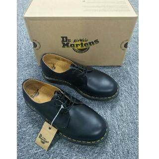 ドクターマーチン(Dr.Martens)のUK4 Dr.Martens ドクターマーチン ブラック メンズ 新品(ブーツ)