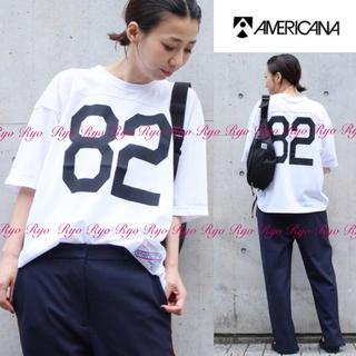 DEUXIEME CLASSE - 18SS★新品同様⭐️アメリカーナ/メッシュMESH AME Tシャツ/フリー