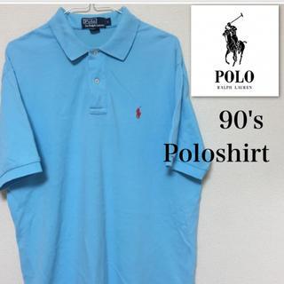 ラルフローレン(Ralph Lauren)のラルフローレン ポロシャツ Lサイズ 見えない部分に汚れあり(Tシャツ/カットソー(半袖/袖なし))
