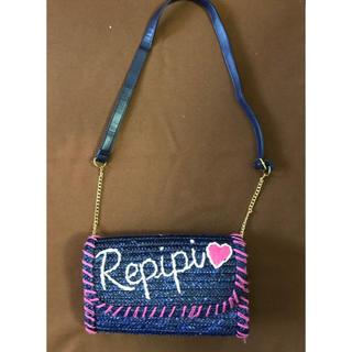 レピピアルマリオ(repipi armario)のレピピ ストローショルダーバッグ(かごバッグ/ストローバッグ)