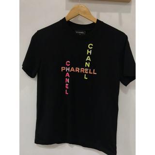 シャネル(CHANEL)のCHANEL × Pharrell Tシャツ ブラック(Tシャツ/カットソー(半袖/袖なし))