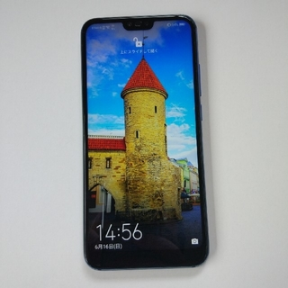 ANDROID - 【超特価】Honor10 Global版 128GB Blue