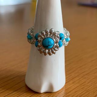ターコイズブルー リング(リング(指輪))