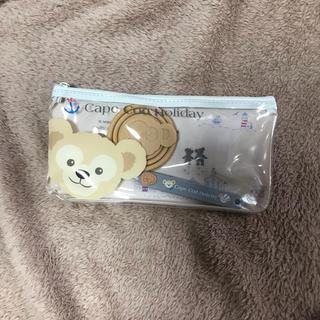 ダッフィー(ダッフィー)のダッフィー歯ブラシセット(日用品/生活雑貨)