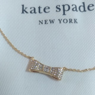 kate spade new york - ケイトスペード リボン ネックレス