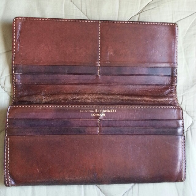 KATHARINE HAMNETT(キャサリンハムネット)のKATHARINE HAMNETT 長財布!! メンズのファッション小物(長財布)の商品写真