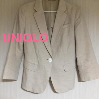 ユニクロ(UNIQLO)のユニクロ❤︎リネンジャケット(テーラードジャケット)