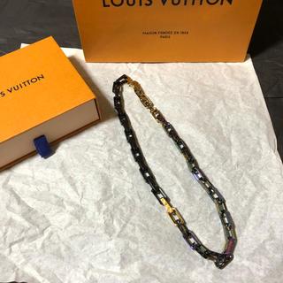 ルイヴィトン(LOUIS VUITTON)のLouis Vuitton モノグラムチェーンカラーズ ネックレス(ネックレス)