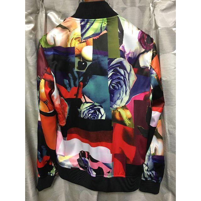 "Paul Smith(ポールスミス)のPaul Smith AW-18 ""Rose Collage""MA-1 Lサイズ メンズのジャケット/アウター(ブルゾン)の商品写真"