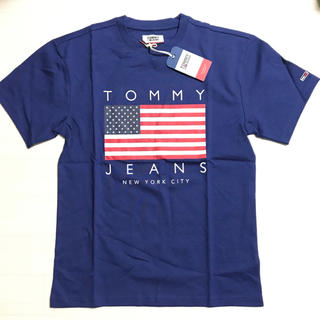 TOMMY HILFIGER - 新品 ◤ TOMMY JEANS 2019 春 新作 トップス 青 ◢