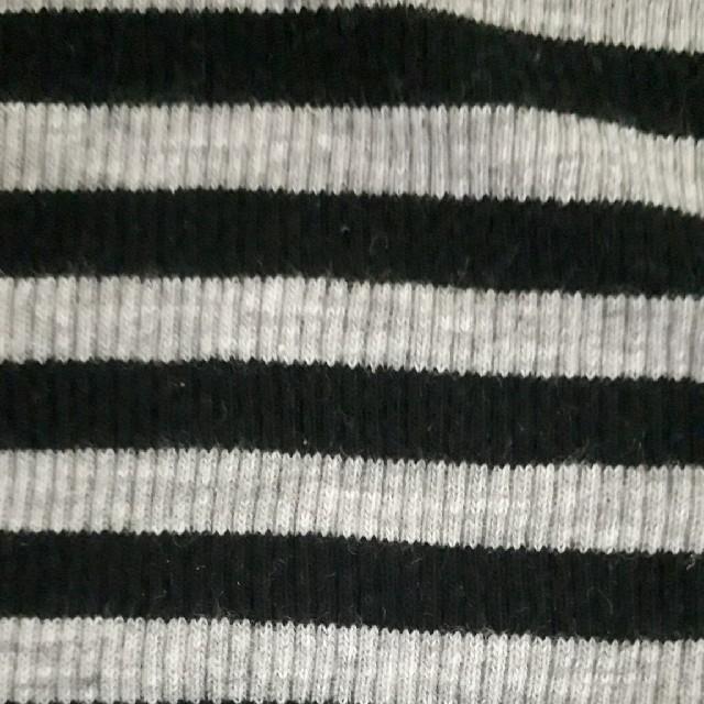 agete(アガット)の美品☆agate☆ニットボーダー半袖M メンズのトップス(Tシャツ/カットソー(半袖/袖なし))の商品写真